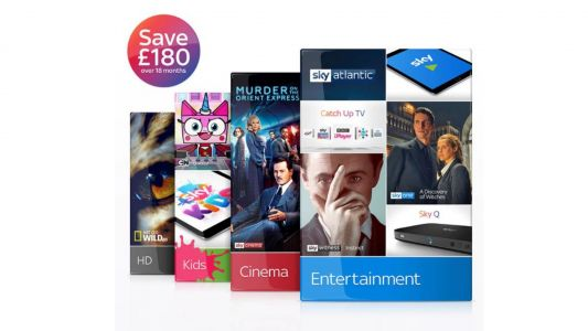 Sky deals: save £180 on this HD Sky Cinema, kids and entertainment bundle