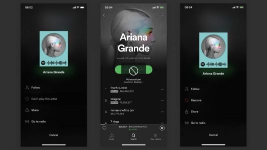 Spotify Adding Feature That Lets You Block Artists From Playlists, Radio Stations, and More