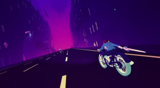 Sayonara Wild Hearts hands-on preview - Playing a pop music game at 200 miles per hour