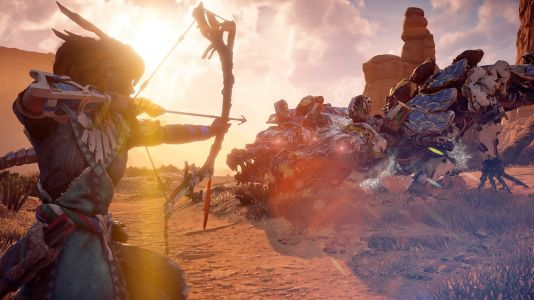 Horizon Zero Dawn is going for gold at this year's Golden Joystick Awards