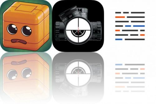 Today's Apps Gone Free: Marvin the Cube, SniperSight and