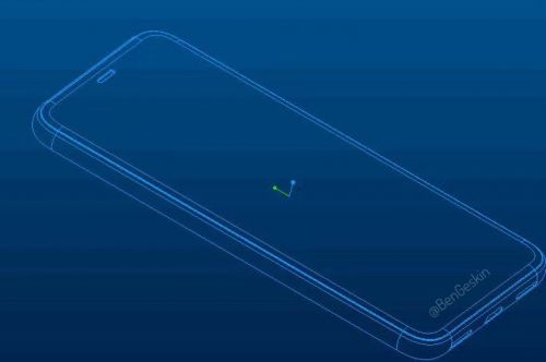 Possible Google Pixel 4 Design Shown In CAD Sk