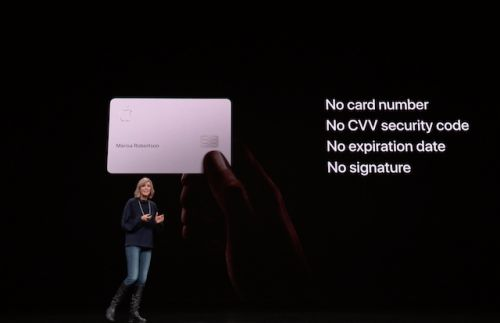 Apple Card Credit Card Launched With Lower Rates And No Fees