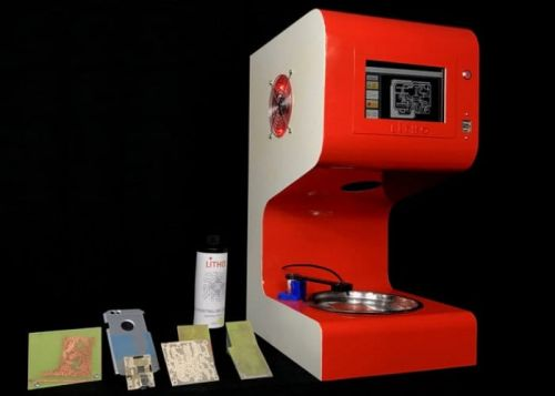 Litho PCB Printer And Pattern Transfer Machine Hits Kickstarter