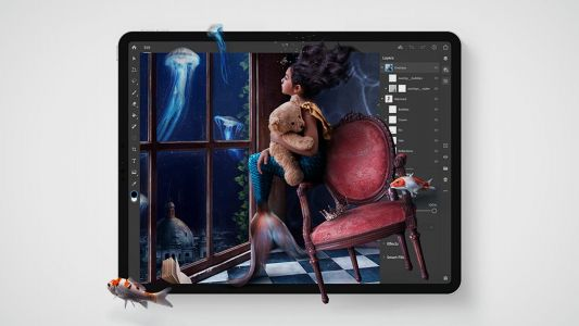 Adobe outlines new features coming to Photoshop for iPad this year and next year