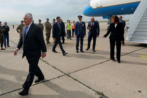 Rex Tillerson Babbles in Beirut While Middle East War Looms