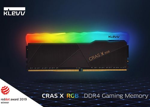 KLEVV Cras X RGB: Up to DDR4-4266, Coming at Computex