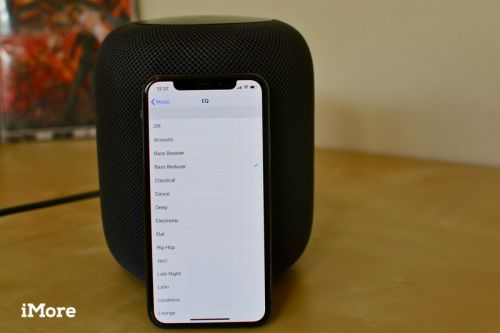 How to adjust the EQ on your HomePod