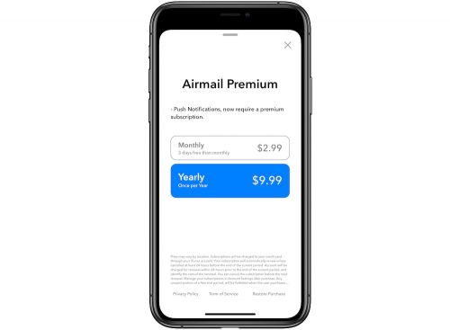 Airmail Switches to Subscription-Based Pricing
