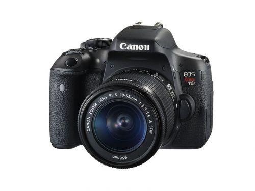 The Canon Rebel t6i DSLR camera is down to a great low price refurbished