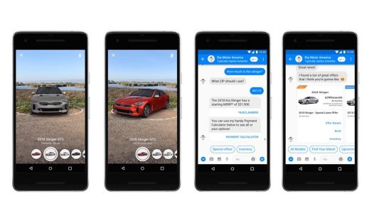 Facebook Messenger wants you to engage with businesses using augmented reality