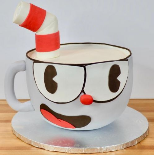 This Cuphead cake tutorial is something we can all digest