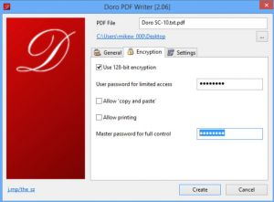 Doro PDF printer adds color conversion, page rotation controls