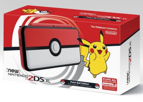 Nintendo 2DS XL Pokéball Special Edition Arrives November 3rd 2017