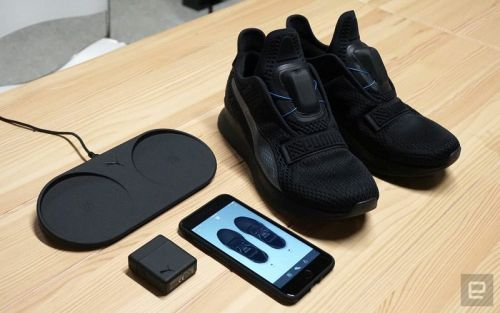 Puma Debuts $330 iPhone-Connected Self-Lacing Sneakers to Compete With Nike