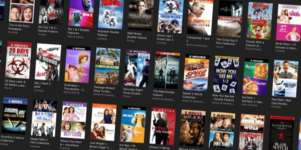 ITunes fills your library w/ new $5 4K + HD movie sale, double features for $10, more