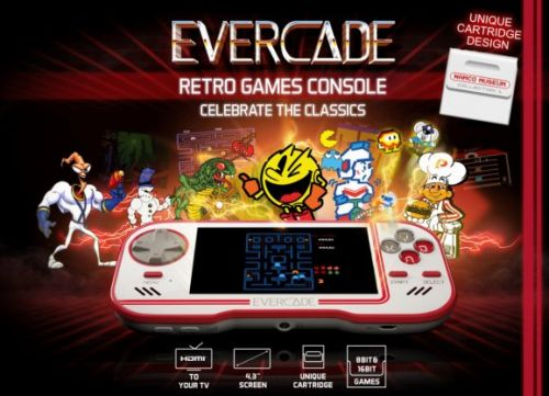 Evercade is a new handheld for classic Atari, Interplay, and Namco games