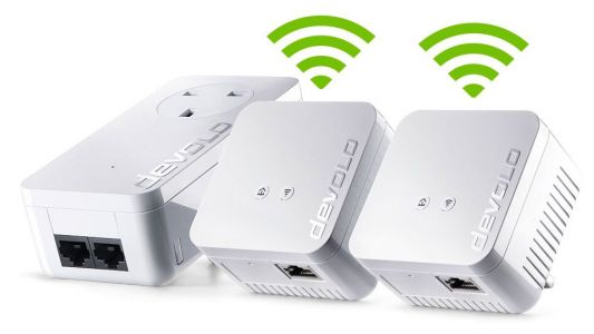 Get WiFi that won't let you down with the devolo 550 WiFi Network Kit