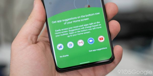 Android 11 Beta 1 build reveals app suggestions for Pixel Launcher dock