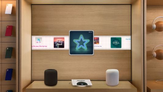 Concept: Creating a more immersive HomePod store experience with AR and Apple Music