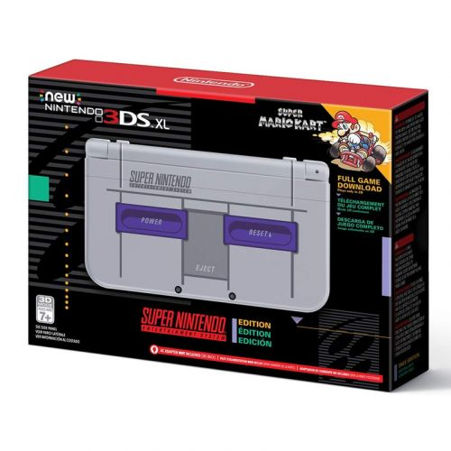 The Amazon-exclusive Super NES Edition of the New Nintendo 3DS XL is $50 off today