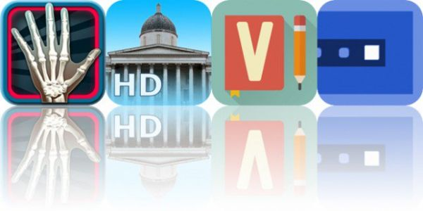 Today's Apps Gone Free: Powers of Minus Ten, National Gallery, Vocabulary and More