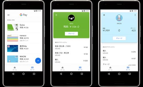 Google Pay Gets Suica And WAON Support In Japan