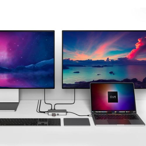 Drive two 4K displays, connect everything with Hyper's new M1 Mac dongles