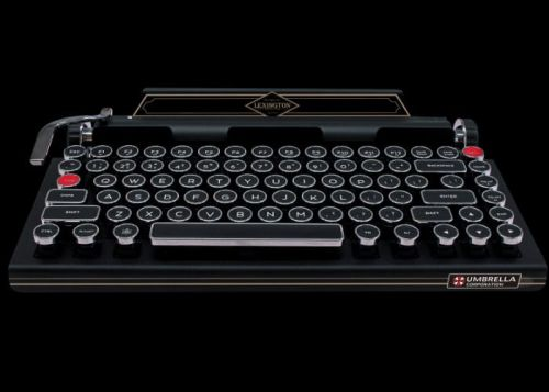 Official Resident Evil 2 Typewriter Keyboard Unveiled By Capcom