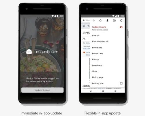 Android Apps Will Update While They're Being Used