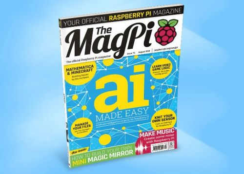 Learn Artificial Intelligence In The Latest Raspberry Pi Magazine