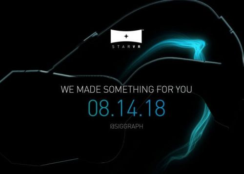 StarVR Professional VR Headset Reveal Teased For Next Week