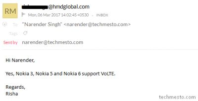 Latest Nokia Smartphones To Support VoLTE Out-of-the-Box