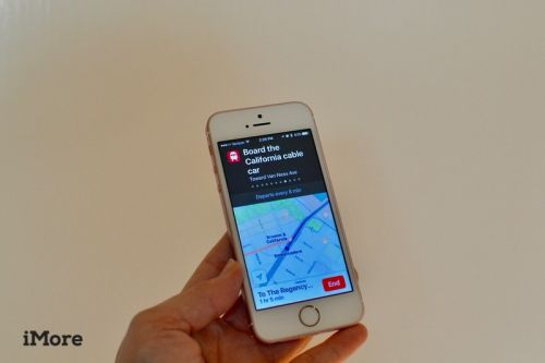 How to find the best transit route in Apple Maps on iPhone