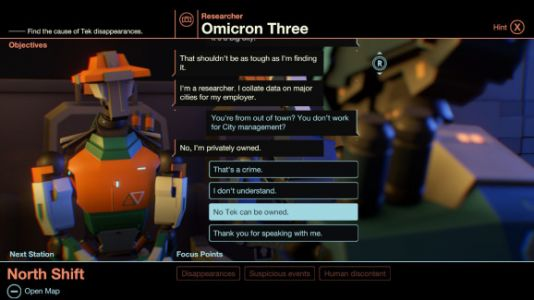 Subsurface Circular's indie robot detective story hits Nintendo Switch on March 1