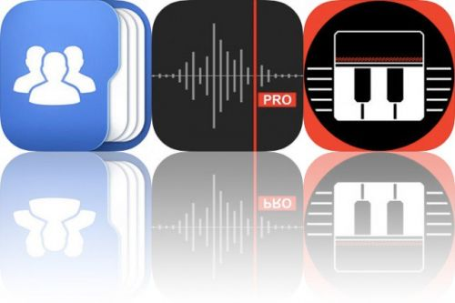 Today's Apps Gone Free: Top Contacts, Awesome Voice Recorder X and The Pocket Piano