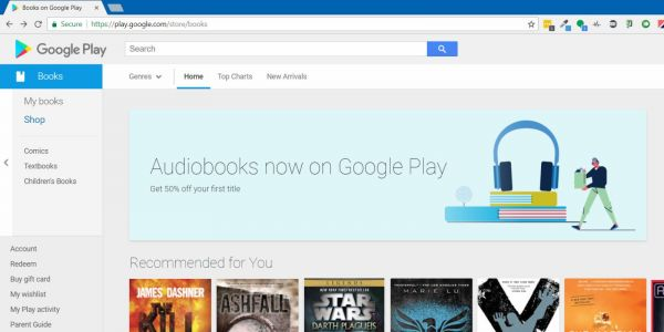 Google Play teases audiobook sales ahead of official arrival, will offer 50% off first title