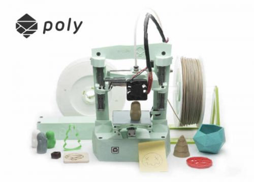 Poly Multi-Tool Desktop 3D Printer And Engraver