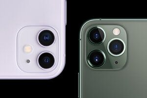 Apple's new iPhone 11, 11 Pro and 11 Pro Max are all about the cameras