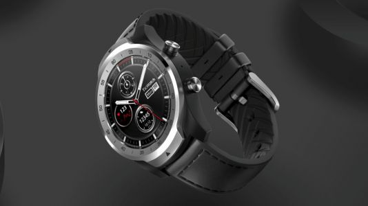 The TicWatch Pro is a smartwatch with two screens and 30 days battery life