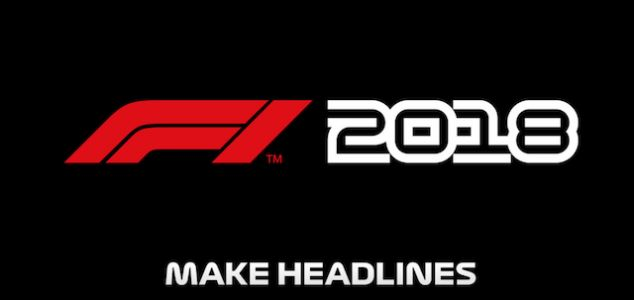 F1 2018 For PS4, Xbox One, And PC Releases This August