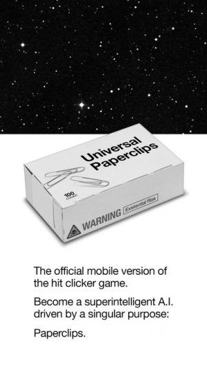 The Hit Game 'Universal Paperclips' Has Now Taken Over Your Phones - Next Step, Addiction