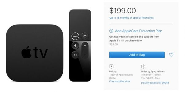 Apple TV 4K With 64GB is Back in Stock After Extended Shipping Delays