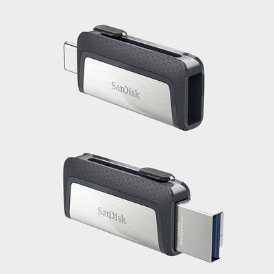 Switch between USB-A and C with the $17 SanDisk Ultra 64GB flash drive