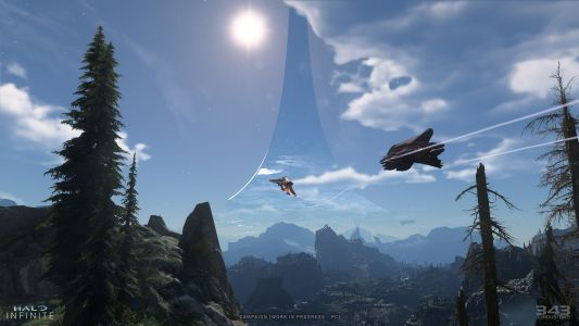 Halo Infinite devs show the game is 'coming together' with new screenshots