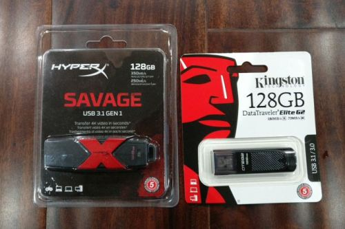 Kingston DataTraveler Elite G2 and HyperX Savage USB Flash Drives Capsule Review