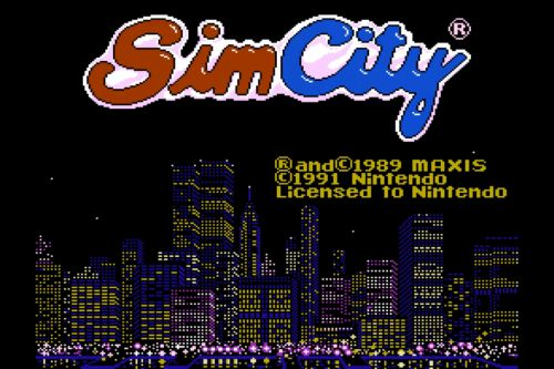You can now download the long-lost SimCity NES port