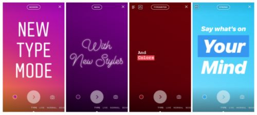 How to change font in Instagram Stories