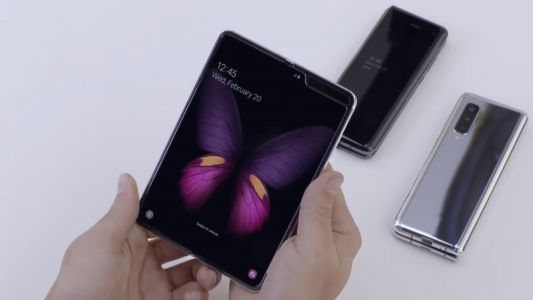 Samsung Galaxy Fold gets a much closer look in eerie music-less video