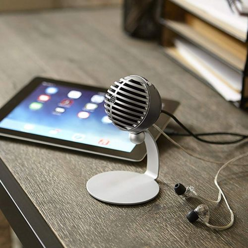 Use your iPhone or iPad to record on-the-go with Shure's $79 MV5 Microphone